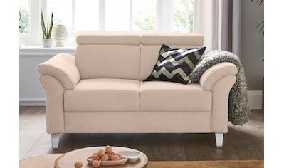 sit&more 2-Sitzer, inklusive Federkern und Kopfteilverstellung kaufen