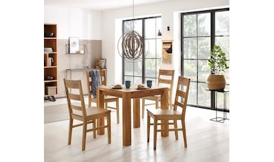 Holzzone Esstisch »Nils«, aus Massivholz kaufen