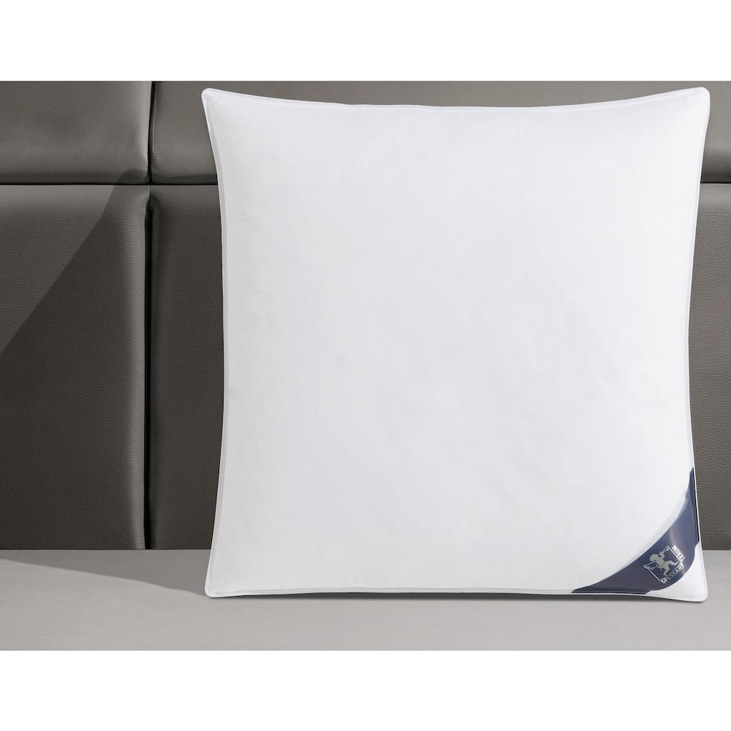 SPESSARTTRAUM 3-Kammer-Kopfkissen »Premium«, Füllung: 100% Gänsedaunen (Aussenkammern), Bezug: 100% Baumwolle, (1 St.), hergestellt in Deutschland, allergikerfreundlich