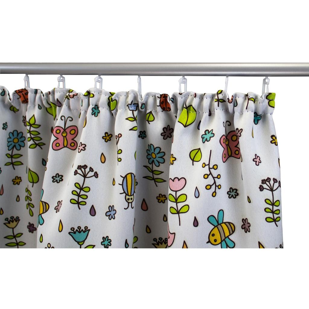 VHG Vorhang »Miniwelt«, Kinder, Verdunkelungs, Dim Out, Tiere