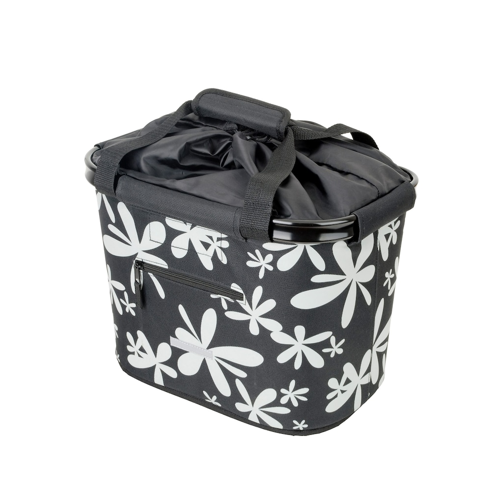 Blue Bird Fahrradtasche »Shopping Bag Blume«