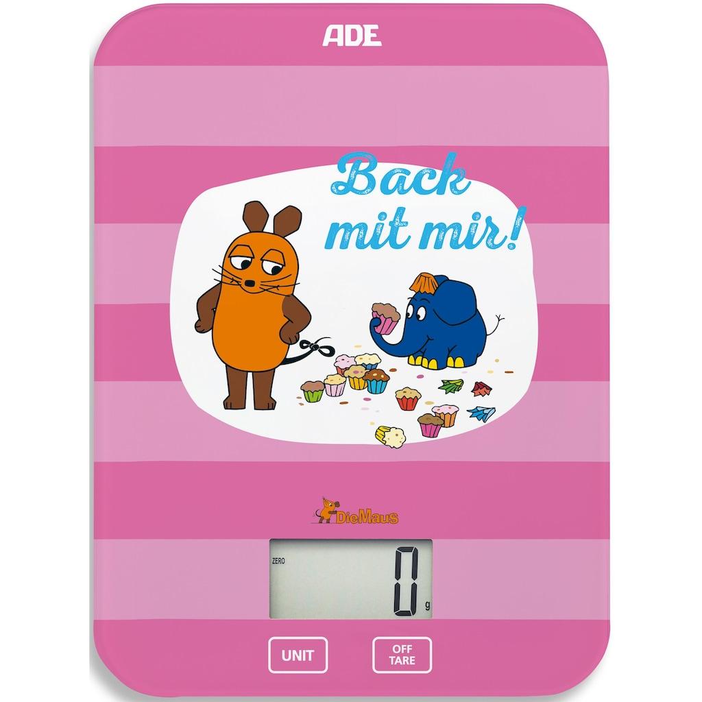 """ADE Küchenwaage »KE1801 Die Maus«, Edition """"Back mit mir"""""""