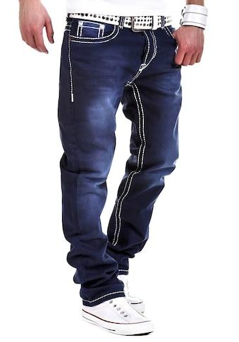 behype Bequeme Jeans »Stitch«, mit dicken Kontrastnähten kaufen