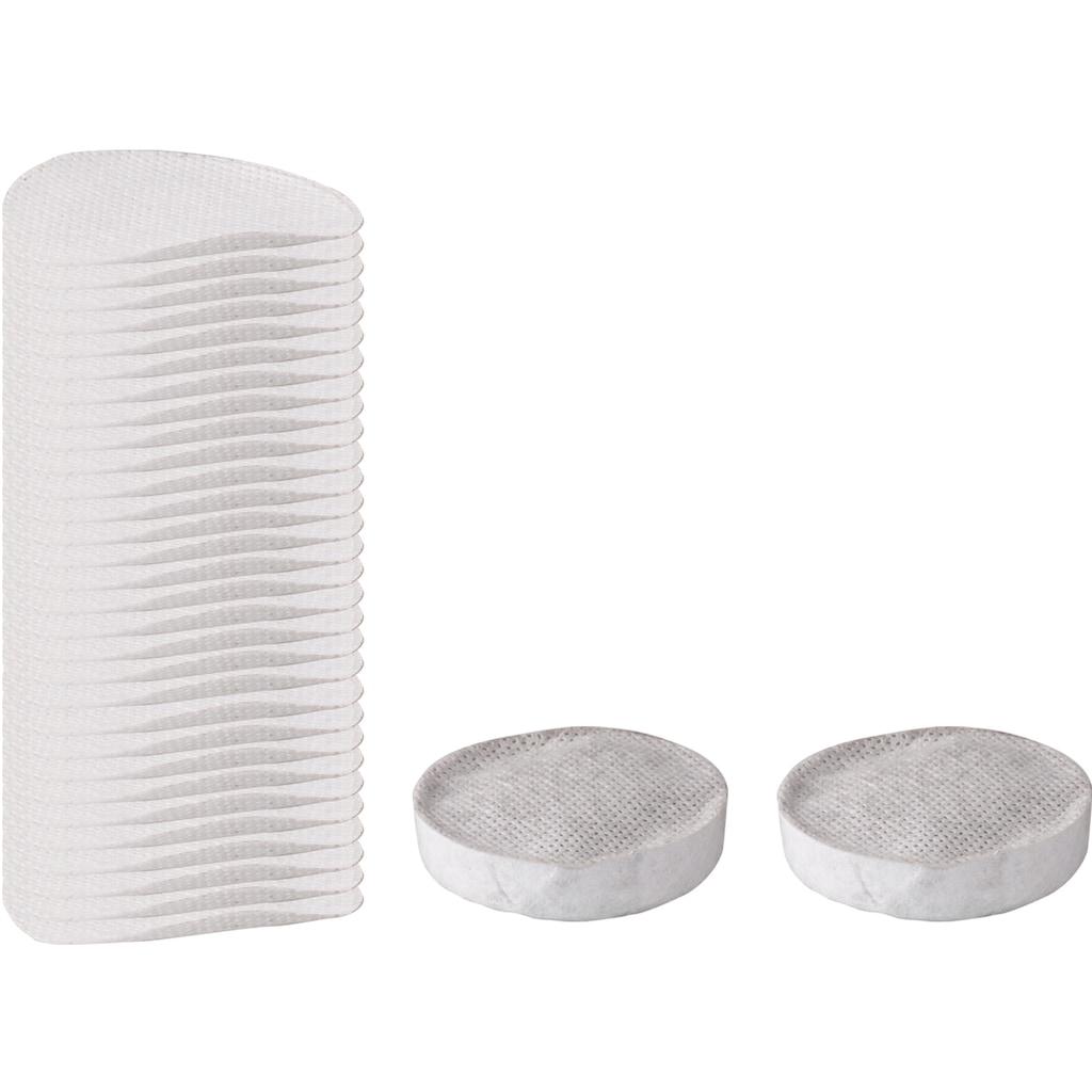 STONELINE Bratpfanne »Smell Well XXL«, Aluminiumguss, (mit SMELL WELL Filter - 32-tlg. Nachfüllset: bestehend aus 2 Kohlefilter + 30 Aromablättchen), inkl. Glasdeckel