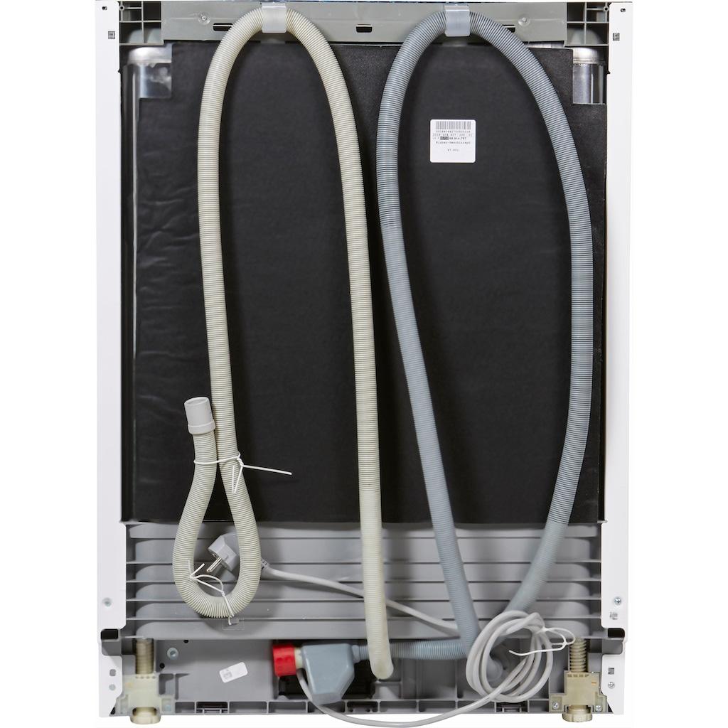BEKO teilintegrierbarer Geschirrspüler »DSN6634W2«, DSN6634W2, 14 Maßgedecke, mit Startzeitvorwahl