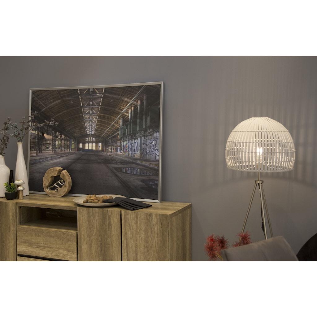 Spiegelprofi GmbH Bild mit Rahmen »Factory«, (1 St.)