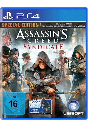 UBISOFT Spiel »Assassin's Creed Syndicate - Special Edition«, PlayStation 4, Software... kaufen