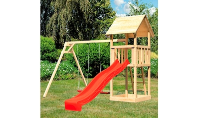 ABUKI Spielturm »Rosie«, BxTxH: 347x264x291 cm, mit Schaukel, Sandkasten, Rutsche kaufen