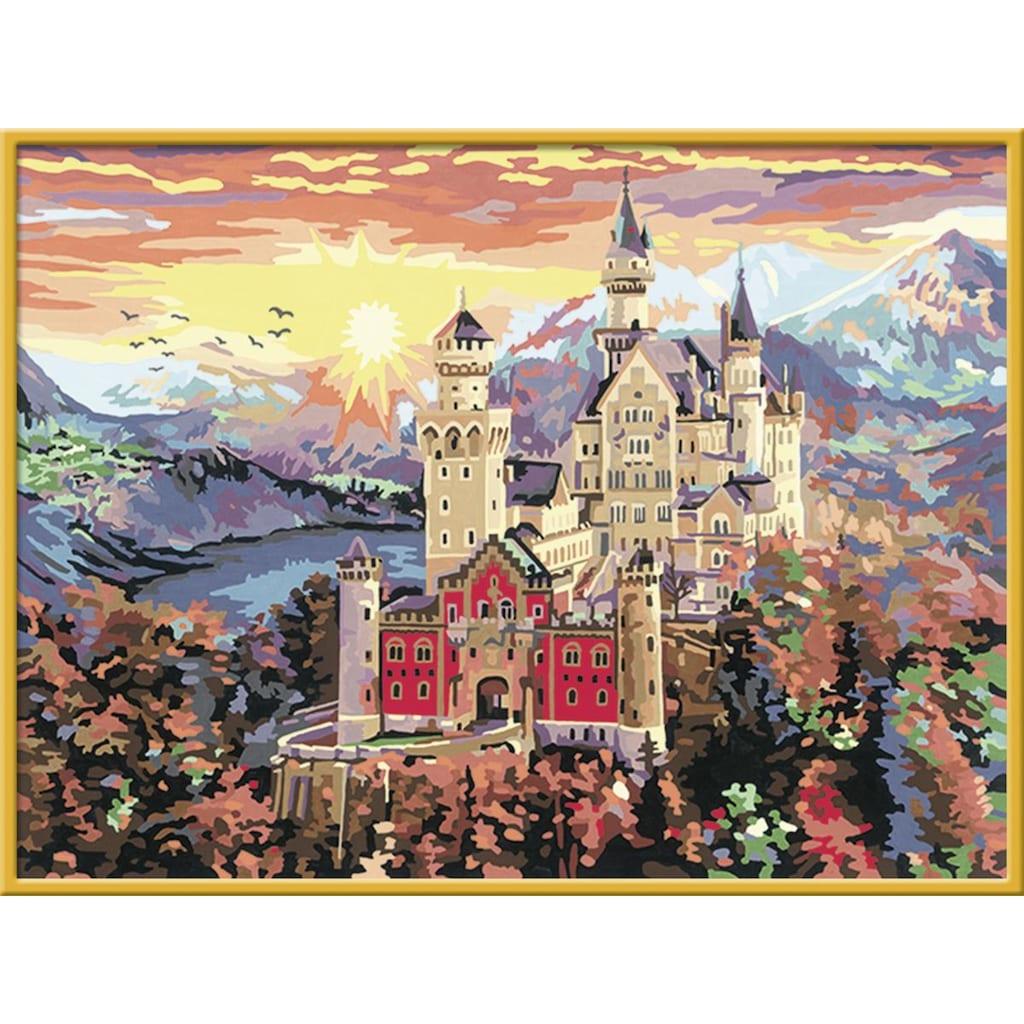 Ravensburger Malen nach Zahlen »Schloss Neuschwanstein«, Made in Europe, FSC® - schützt Wald - weltweit