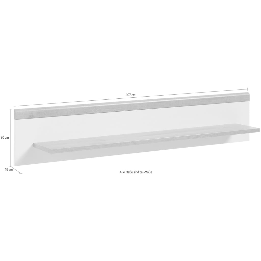 andas Wandboard »Merle«, im skandinavischen Design, Breite 107 cm