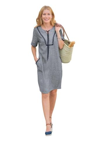 Classic Inspirationen Kleid in pflegeleichter Leinenmischung kaufen