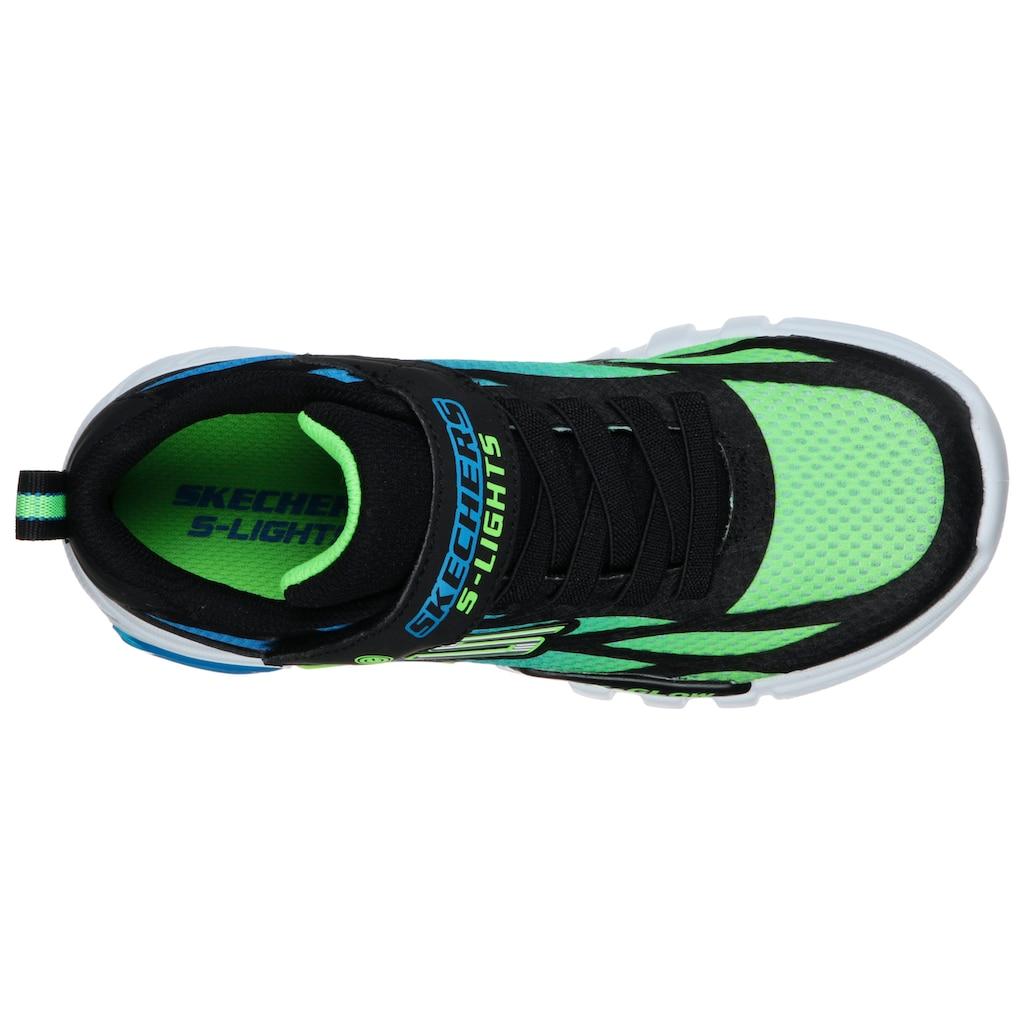 Skechers Kids Sneaker »FLEX-GLOW«, mit Blinkfunktion