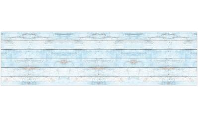 MySpotti Küchenrückwand »fixy Wood light blue«, selbstklebende und flexible... kaufen