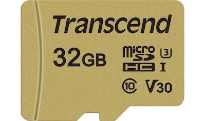 Transcend Speicherkarte »microSDXC/SDHC 500S«, ( Lesegeschwindigkeit 95 MB/s) kaufen