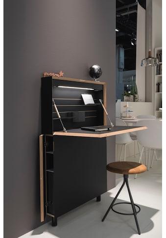Müller SMALL LIVING Sekretär »FLATMATE«, LED Leuchte und 2 USB-Dosen, Design by... kaufen