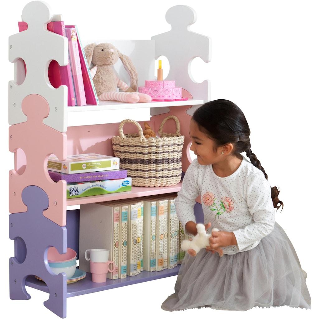 KidKraft® Bücherregal »Puzzle - Pastell«