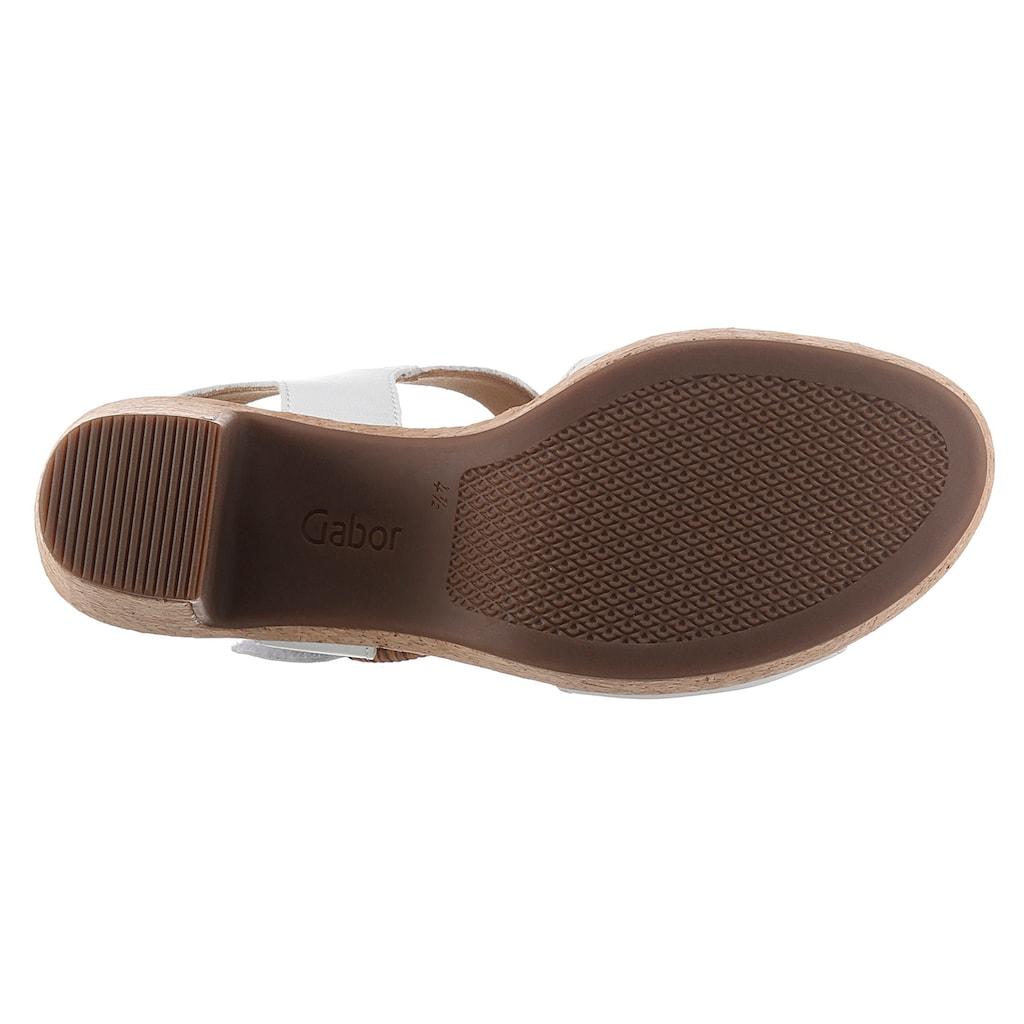 Gabor Sandalette, mit geflochtener Schnalle