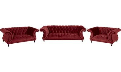 Max Winzer® Chesterfield-Sofa »Isabelle«, mit edler Knopfheftung & gedrechselten Füßen... kaufen