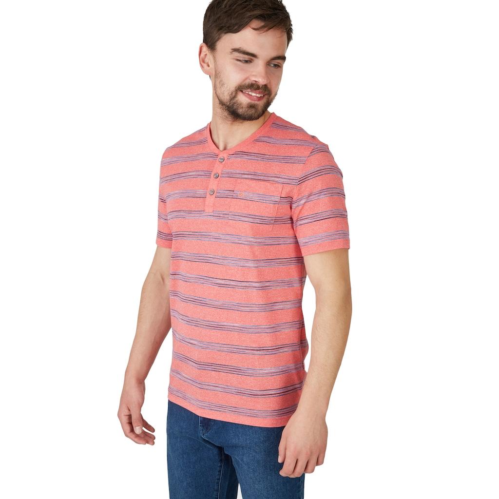 NAVIGAZIONE Shirt mit kurzer Knopfleiste