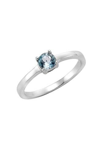 Zeeme Fingerring »925 Sterling Silber Blautopas«, Ring kaufen