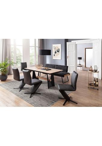 K+W Komfort & Wohnen Essgruppe »Deseo II«, (Set, 6 tlg.), Solobank mit... kaufen