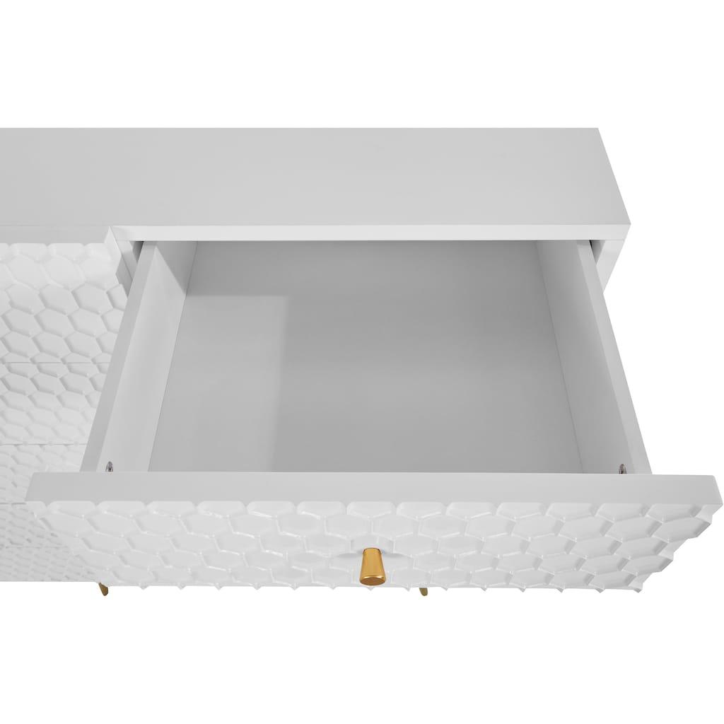 Guido Maria Kretschmer Home&Living Kommode »Easily«, Modernes Design, 6 Schubladen