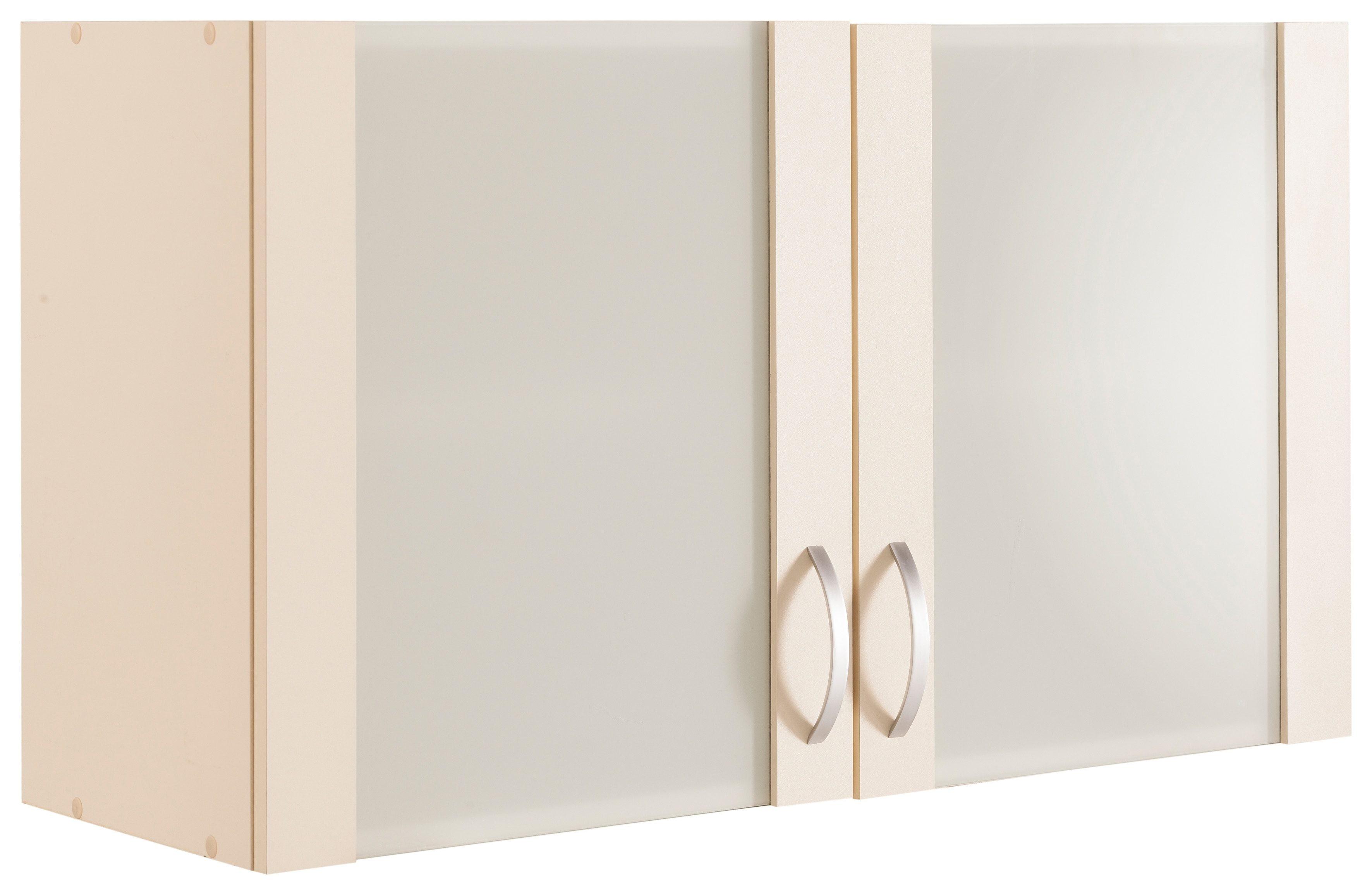 Glashänger »Flexi«, Breite 100 cm   Wohnzimmer > Schränke > Hängeschränke   Gelb