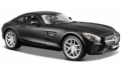"""Maisto® Sammlerauto """"Dull Black Collection, Mercedes AMG GT, 1:24, schwarz"""", Maßstab 1:24 kaufen"""