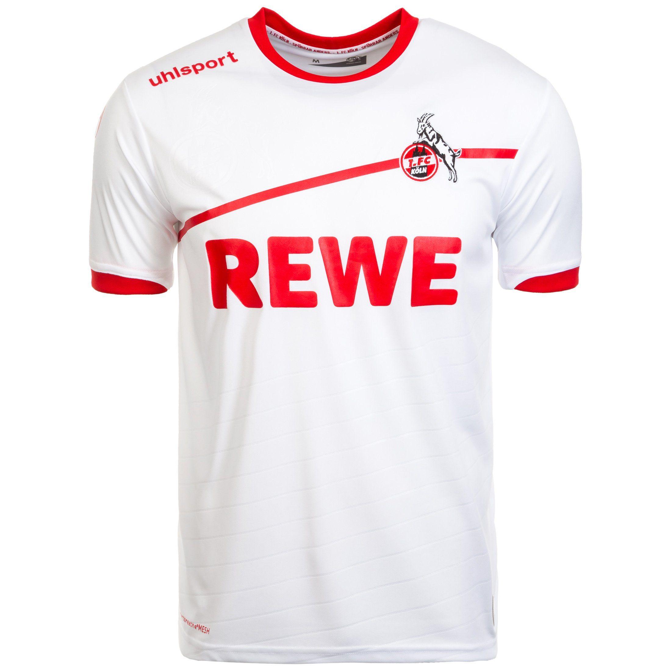 Uhlsport Fußballtrikot 1 Fc Köln 18/19 Heim | Sportbekleidung > Trikots > Sonstige Trikots | Weiß | Uhlsport