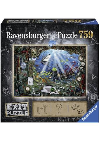Ravensburger Puzzle »Exit 4: Im U-Boot«, Made in Germany, FSC® - schützt Wald - weltweit kaufen
