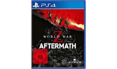 Spiel »World War Z: Aftermath«, PlayStation 4 kaufen