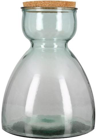GILDE Deko-Glas »Terrarium Senna«, Höhe 34 cm, mit Deckel, ideal als Pflanzgefäß, Wohnzimmer kaufen