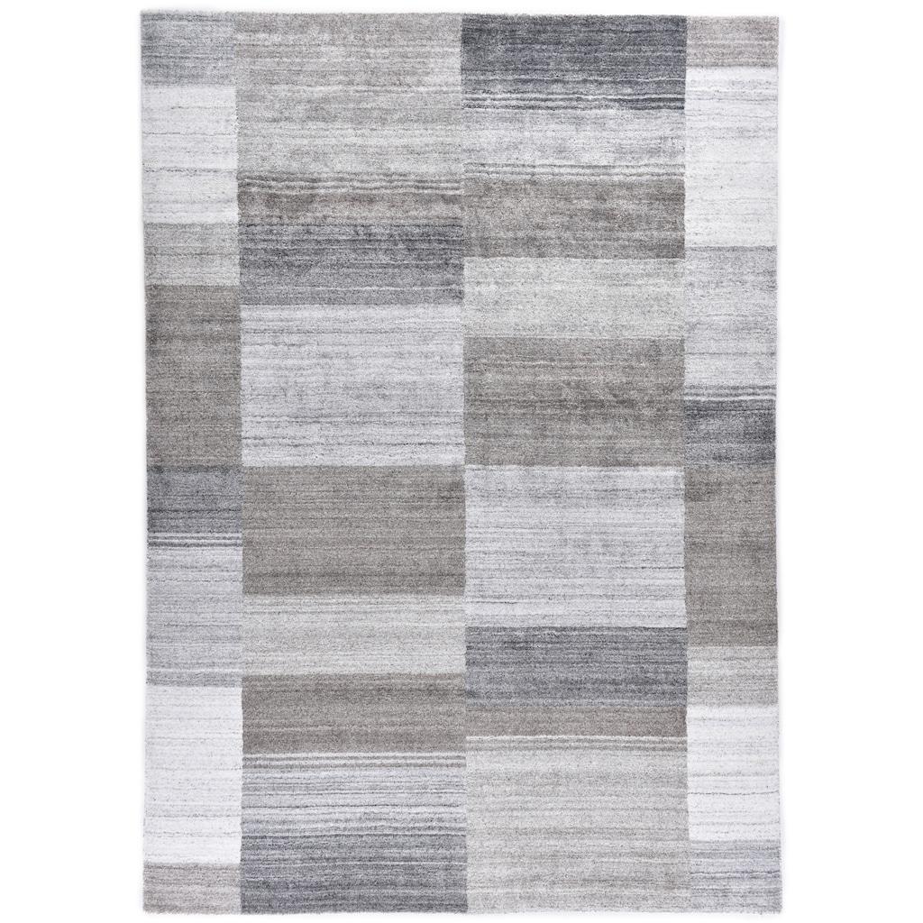 THEKO Teppich »MONTANA LUXURY 928-15«, rechteckig, 13 mm Höhe, Seidenoptik, Obermaterial: 100% Viskose, Wohnzimmer