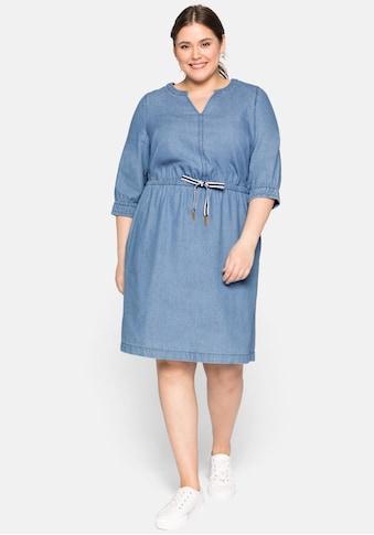 Sheego Jeanskleid, mit Taschen kaufen