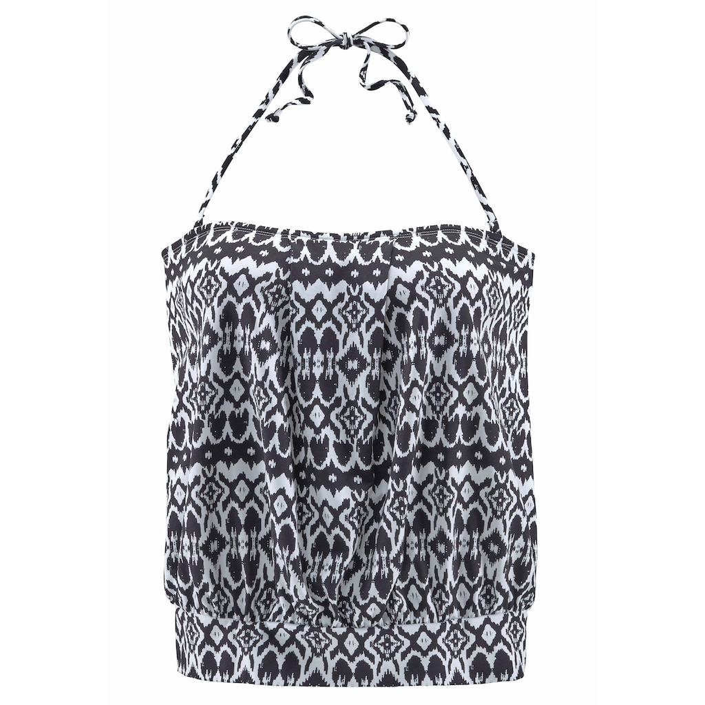 LASCANA Oversize-Tankini-Top »Grace«, mit abnehmbaren Trägern