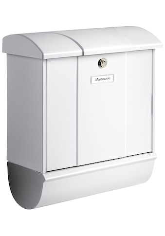 BURG WÄCHTER Briefkasten »Olymp 91600 W«, Stahlblech - Briefkastenset kaufen