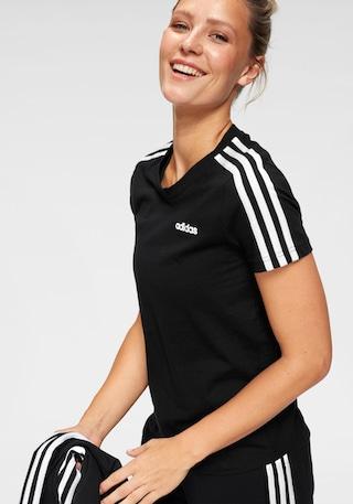 adidas Performance T-Shirt »ESSENTIALS 3 STRIPES SLIM TEE« online kaufen |  BAUR