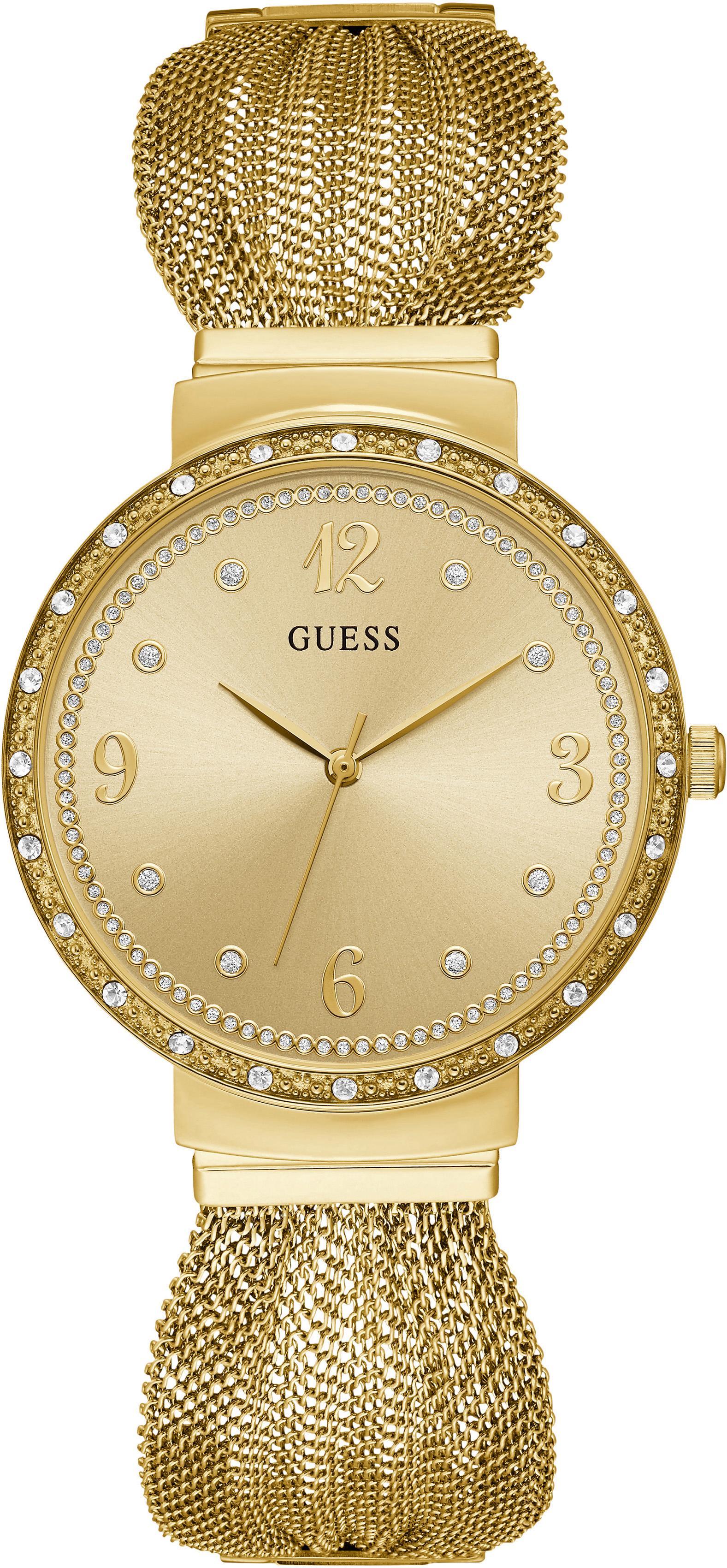 Guess Quarzuhr CHIFFON W1083L2 | Uhren > Quarzuhren | Goldfarben | Guess