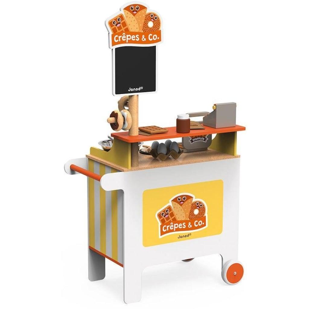 Janod Spielküche »Verkaufsstand Crêpes & Co.«, (40 St.), mit Zubehör