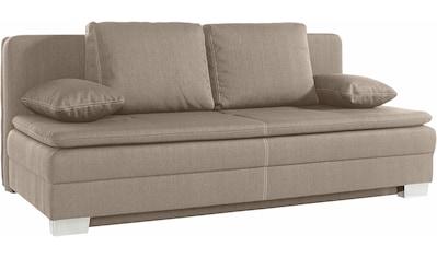 Jockenhöfer Gruppe Schlafsofa, inkl. Bettfunktion und Bettkasten kaufen