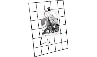 Walther Wanddekoobjekt »Rod«, Fotohalter, Wandgitter, aus Metall kaufen