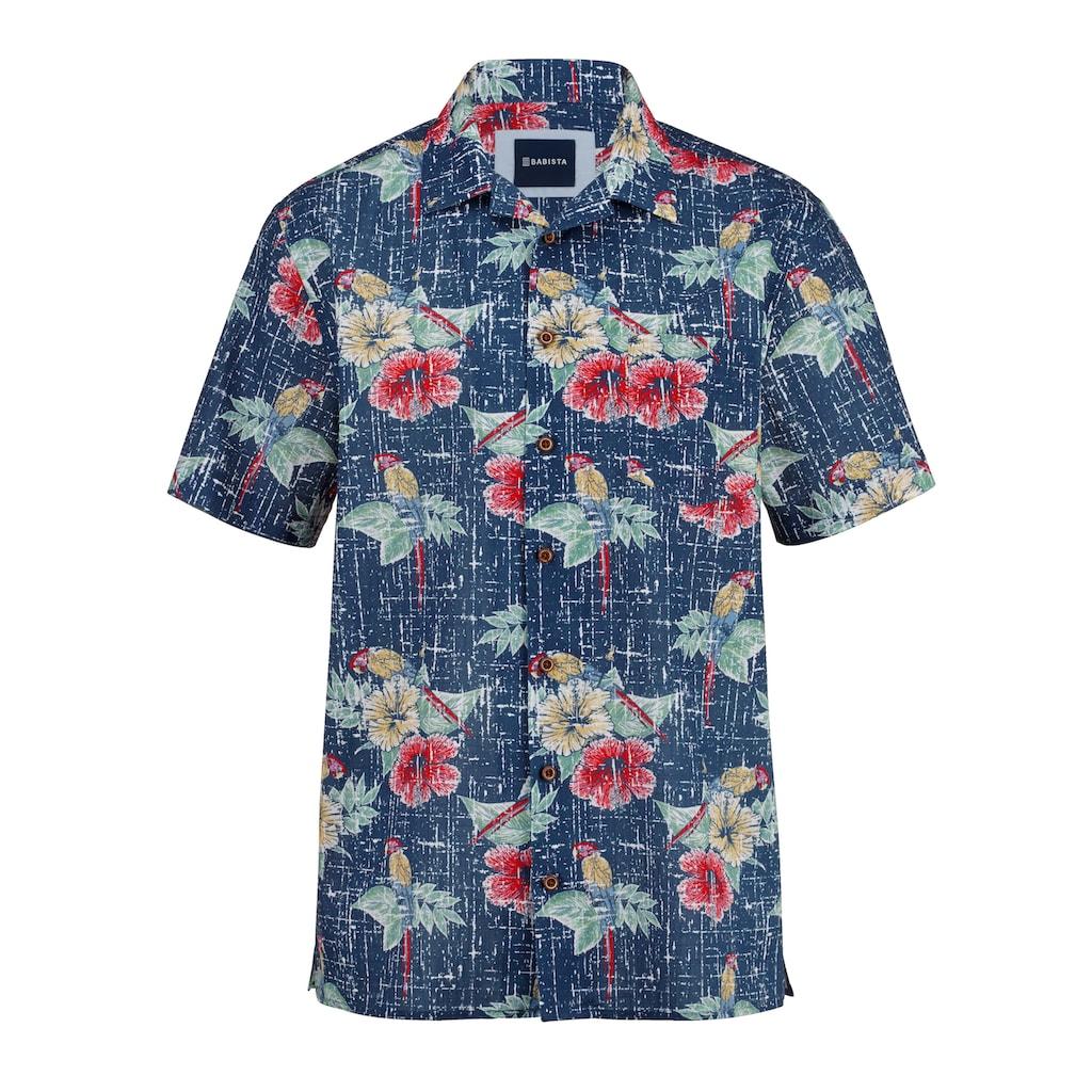 Babista Hawaiihemd, in reiner Baumwolle