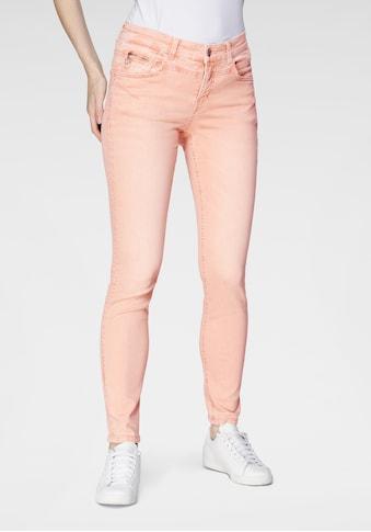 MAC Slim-fit-Jeans »Rich-Slim Terra«, Formgebender Sattel vorne und hinten in... kaufen
