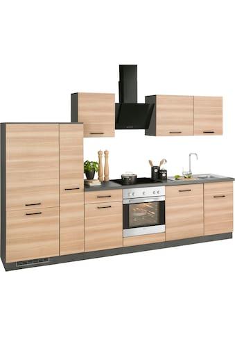 wiho Küchen Küchenzeile »Esbo«, ohne E-Geräte, Breite 310 cm kaufen