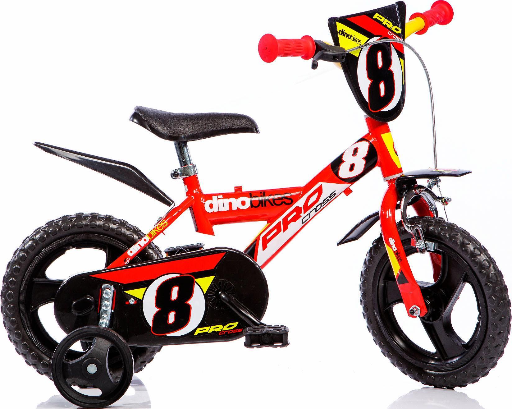 Dino Kinderfahrrad Sporty rot Kinder Kinderfahrräder Fahrräder Zubehör