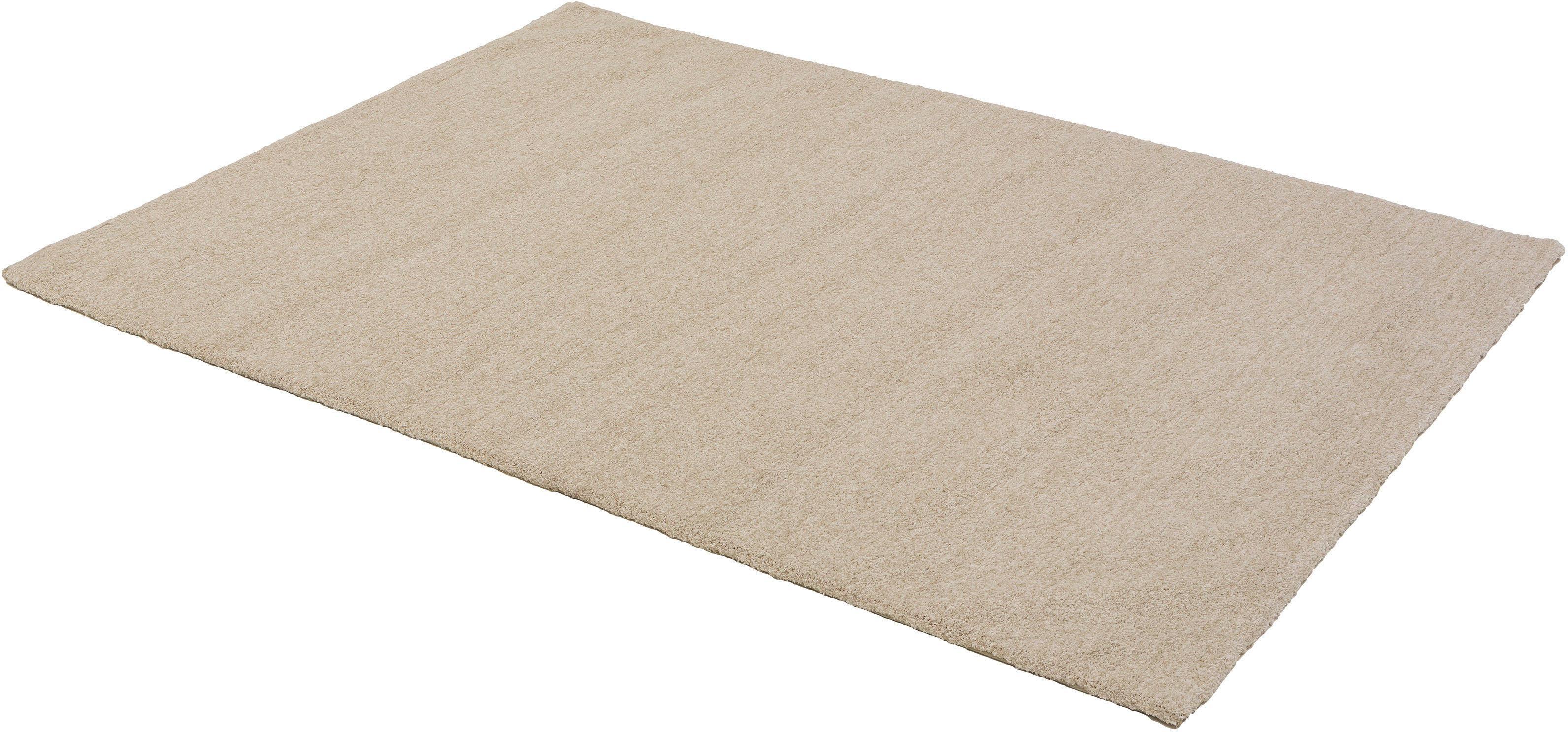Hochflor-Teppich Livorno Melange ASTRA rechteckig Höhe 27 mm