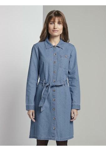 TOM TAILOR Denim Jeanskleid »Mini Jeanskleid« kaufen