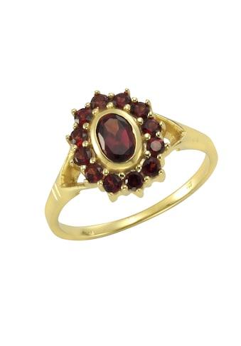 Vivance Ring »333/ -  Gelbgold mit Granat« kaufen