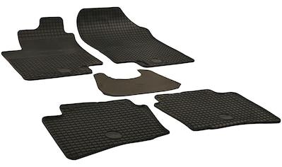 WALSER Passform-Fußmatten, Hyundai, i20, Schrägheck, (5 St., 2 Vordermatten, 3... kaufen