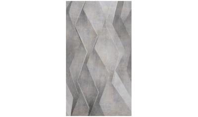 Bodenmeister Fototapete »3d Effekt silber grau« kaufen
